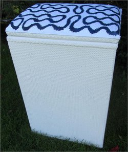 Lloyd Loom Box westwood Punk Squiggle Print Laundry Basket
