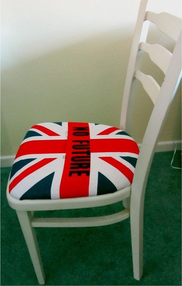 Punk white chairs
