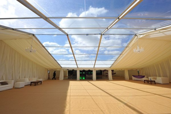 Clear PVC Roofs