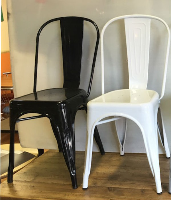 White or Black cafe chairs