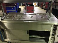 Victor 4 Gastro Hot Cupboard with Overhead Gantry