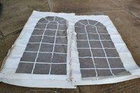 Marquee White PVC Window walls