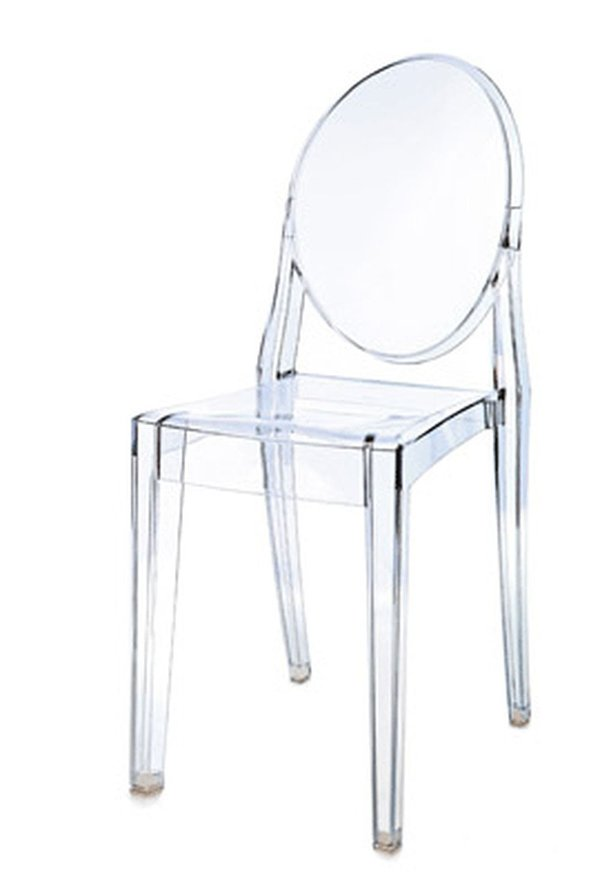 Philippe Starck Style Ghost Chairs