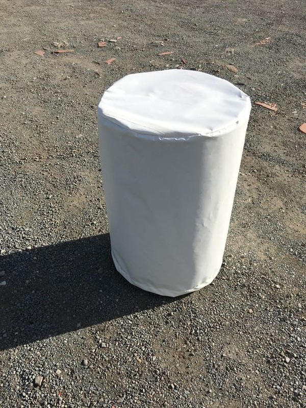 White marquee weight cover