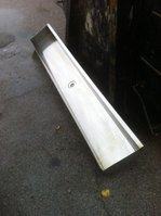 Good Condition Commercial Stainless Steel Urinal