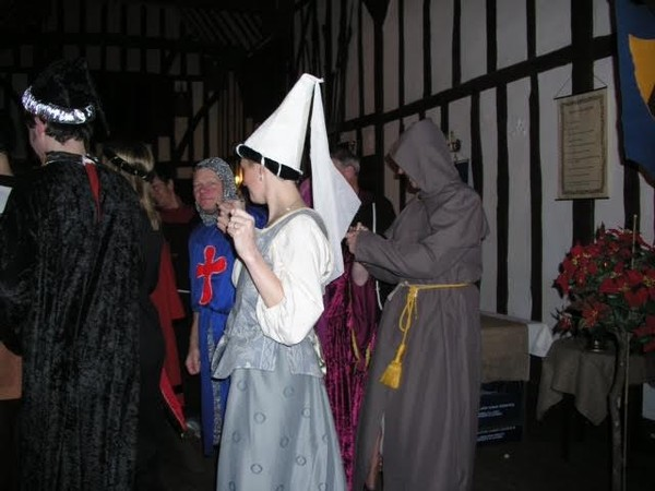 Medieval themed costumes
