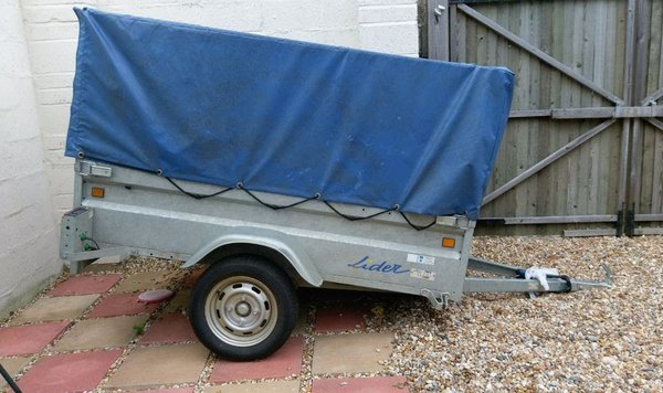 Lider Galvanised Trailer