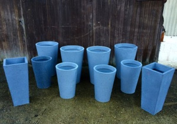 10x Large Artificial Stone Pots