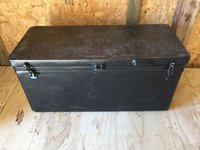Black Icey Tek 115L Cool Box Long