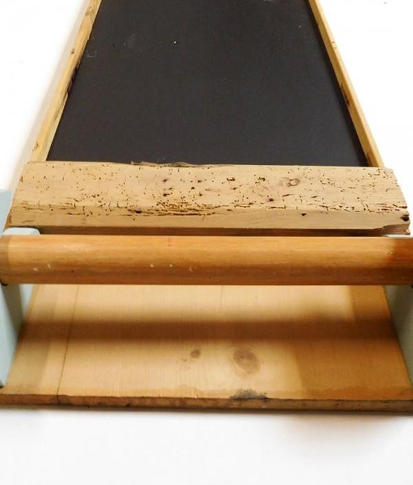 19th Century Blackboard Towel Rail