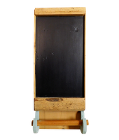 19th Century Blackboard Towel Rail
