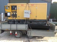 100 KVA Ultra Silent Nixon Generator VERY LOW HOURS!