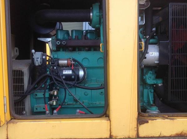 100 KVA Ultra Silent Nixon Generator VERY LOW HOURS!