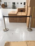 50x Ex Hire Tensabarrier Style Retractable Barriers