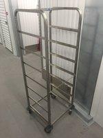 Stainless Steel Dishwasher Basket Trolley (Craven)