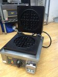 Single Waffle Iron for Round Waffles (GES 75)