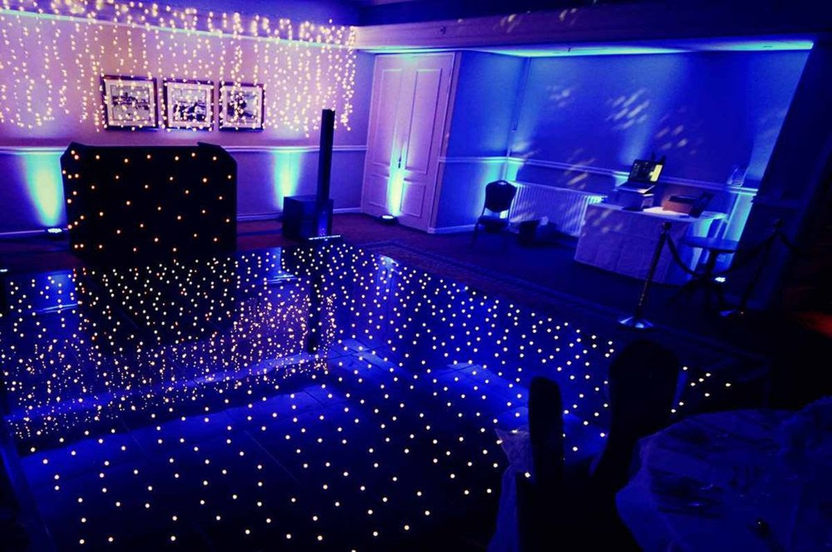secondhand sound and lighting equipment dance floors black led