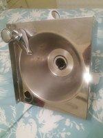 sink  hand wash heater with heater.