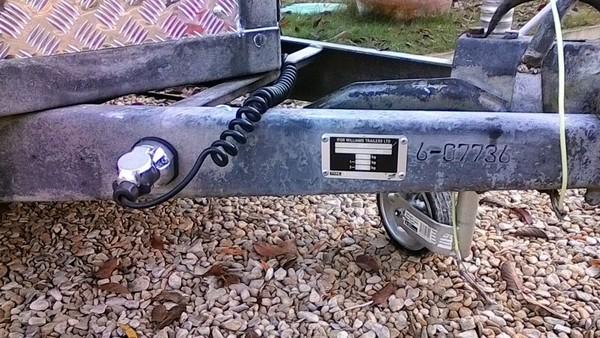 Ifor Williams 12x5 Twin Axle Box Trailer