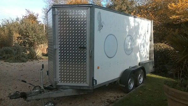 Ifor Williams 12x5 Twin Axle Box Trailer
