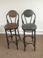 Bentwood High Back Stools