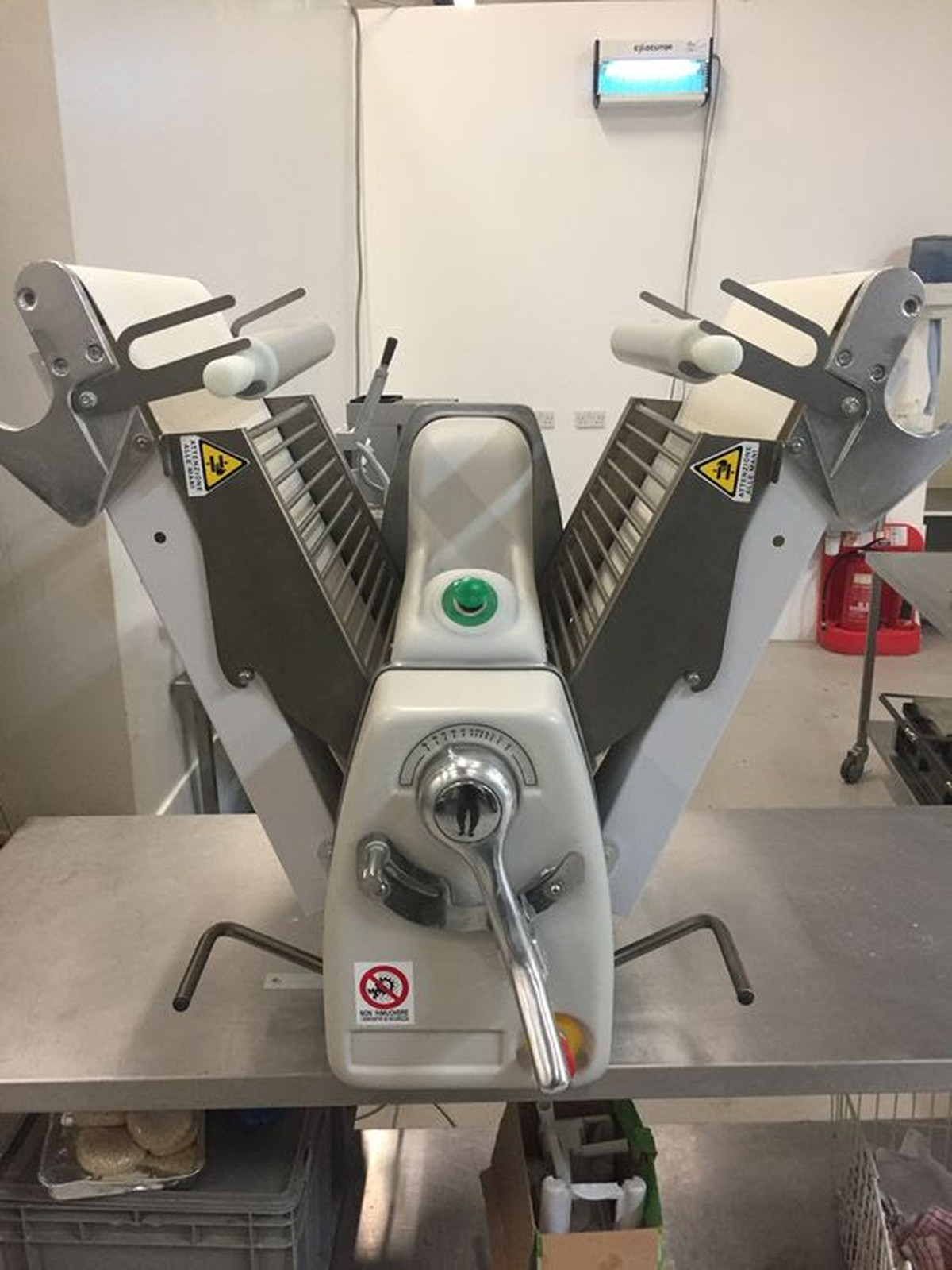 Secondhand Catering Equipment Pastry Sheeters Tekno