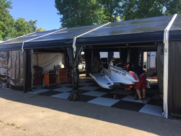 6m x18m race awning for sale