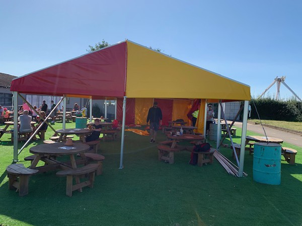 6m Wide Clearspan Marquees