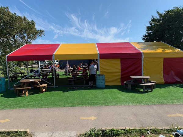 6m Wide Clearspan Marquees for sale