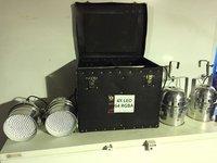 4x LEDJ Par Can 64 RGBA with case