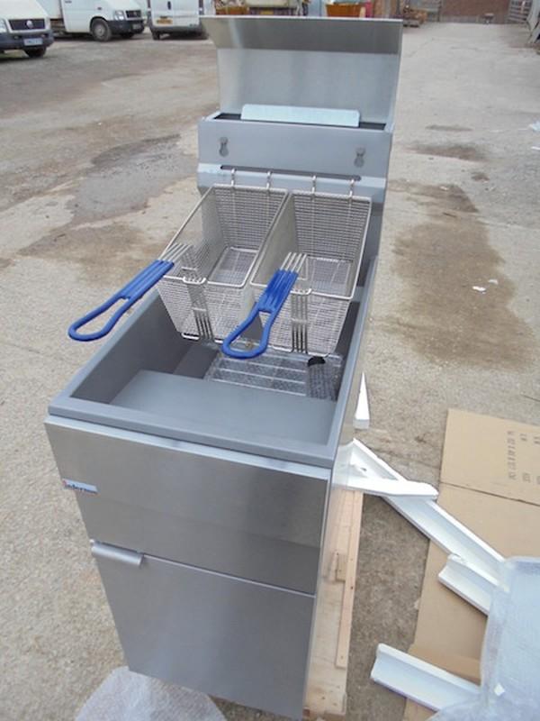 New Gas Twin Fryer (4118)
