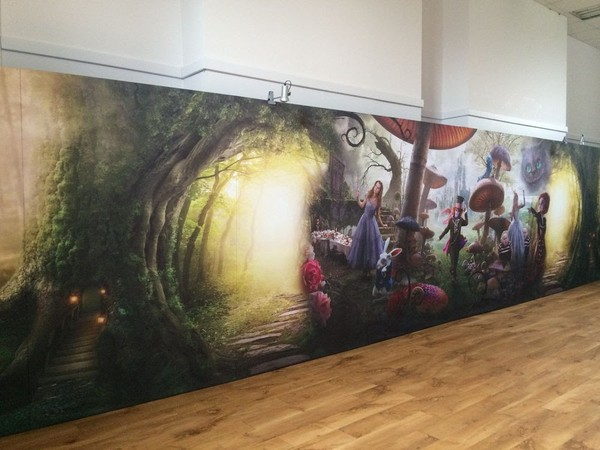 Alice In Wonderland Back Drop