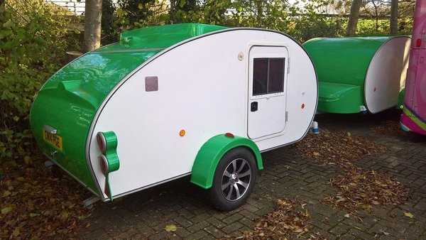 Caretta Teardrop Trailers - Mini Caravans