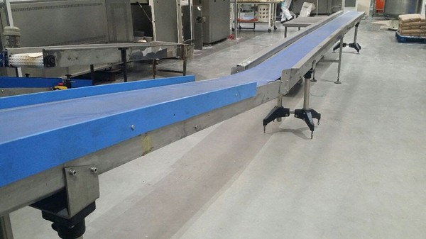9 Metre Long Transfer Conveyor, ideal for food industry
