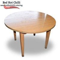 Round Lightwood Table (Ref: RHC1976) - Warrington, Cheshire