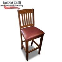 Dark Red Poseur Chairs x10 (Ref: RHC1983) - Warrington, Cheshire