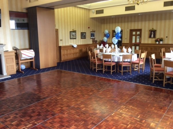Florlock Parquet Dance floor 15ft x 18 ft
