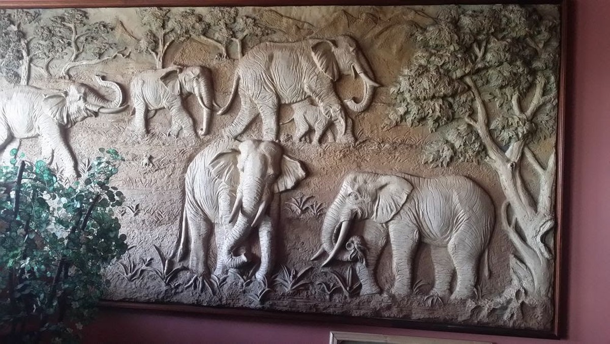 3x 3d Hand Carved Wall Painting With Solid Wood Frame Bedford