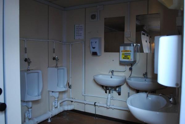 Jack Up Mobile Toilet Unit