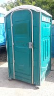 10x Ex Hire Portable Site Toilets