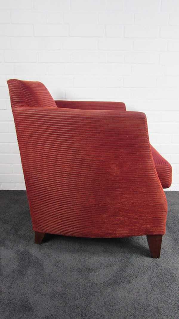 Red Knightsbridge Furniture Armchair