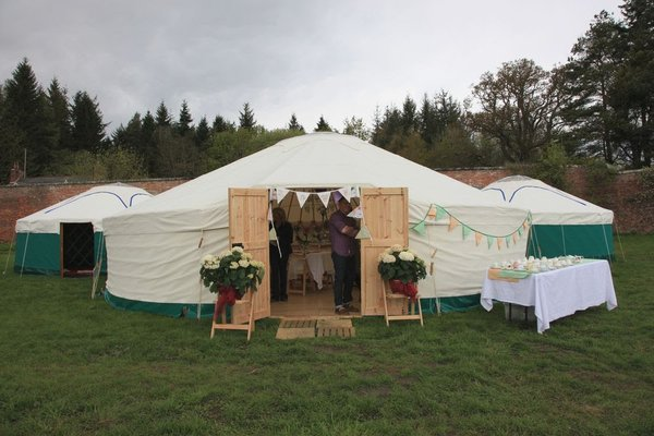 30 Foot Diameter Yurt with Wooden Floor