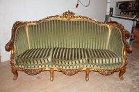 Antique / Vintage Ornate French Gilt Chaise Longue