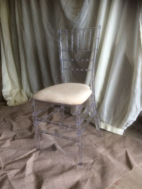 Ice / Ghost Chivari Chairs
