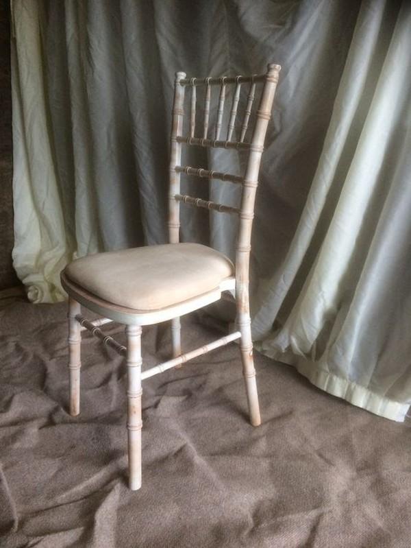 Limewash Chivari Chairs