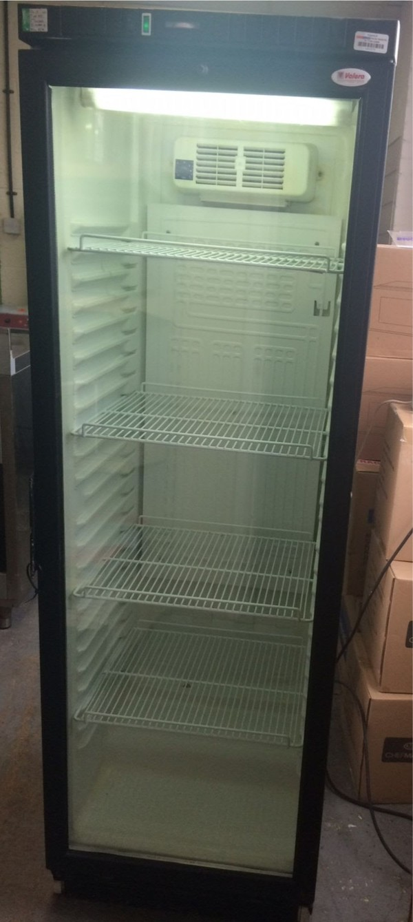 Tefcold Glass Door Display Fridge