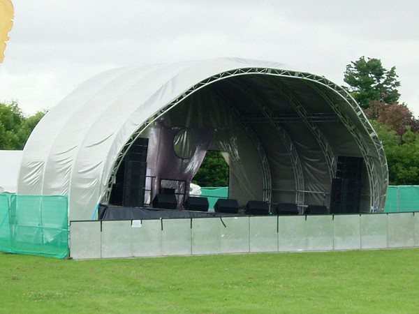 Stage and Roof System