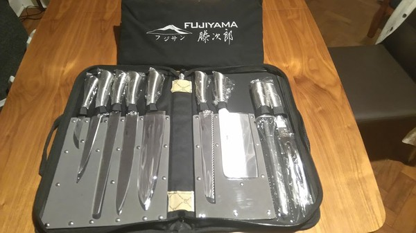 Fujiyama 9 Piece Professional Knife Set