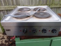 Parry 4 Ring Commercial Hot Plate