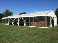 10m x 21m Hoecker 3m Eave Marquee / Temporary Warehouse